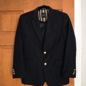 Boys black sports coat